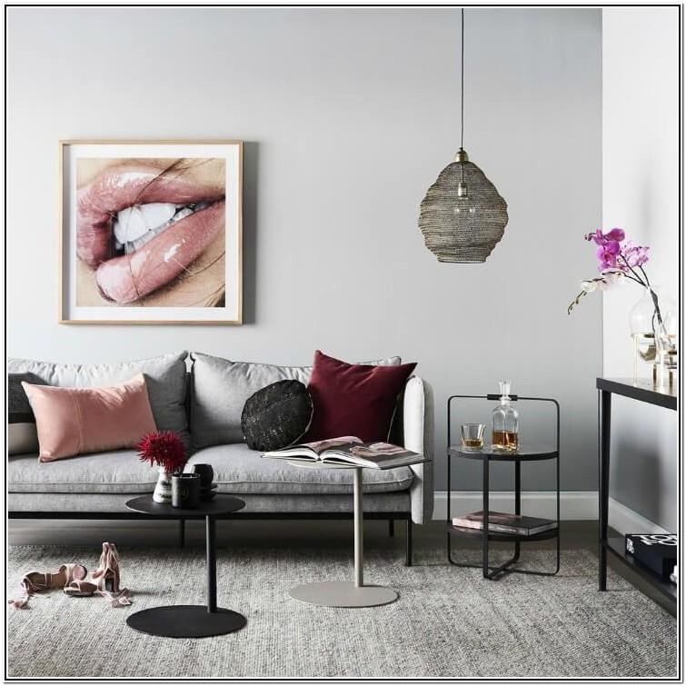 Gray And Maroon Living Room Ideas