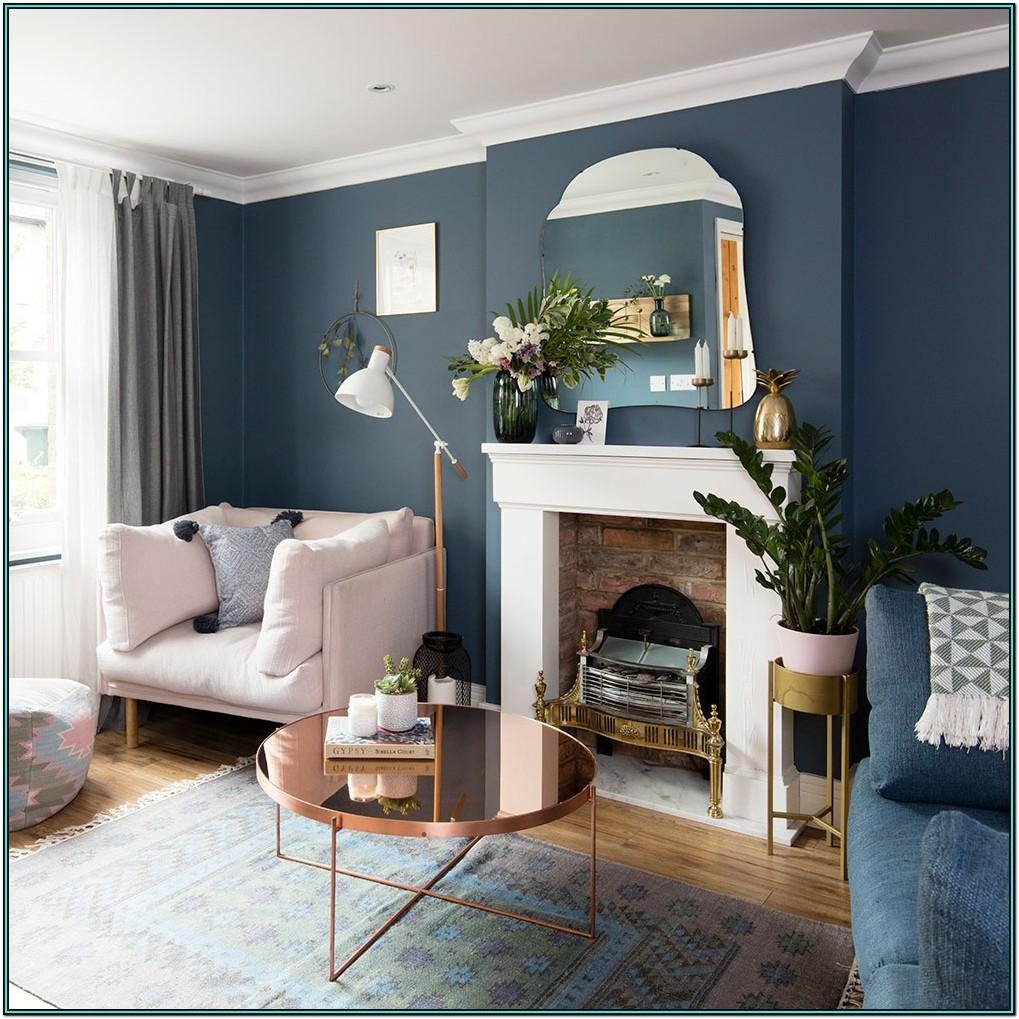 Gray And Navy Blue Living Room Ideas