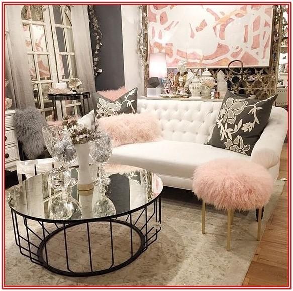 Gray Glam Living Room Ideas