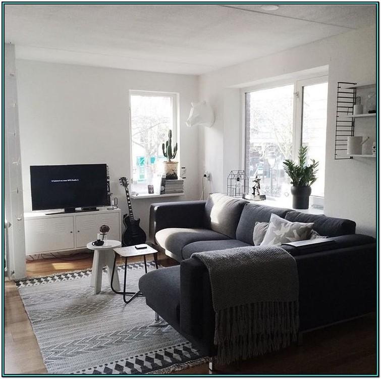 Gray Sectional Sofa Dark Gray Living Room Ideas