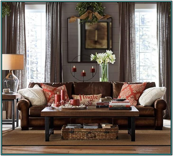Green Leather Couch Living Room Ideas