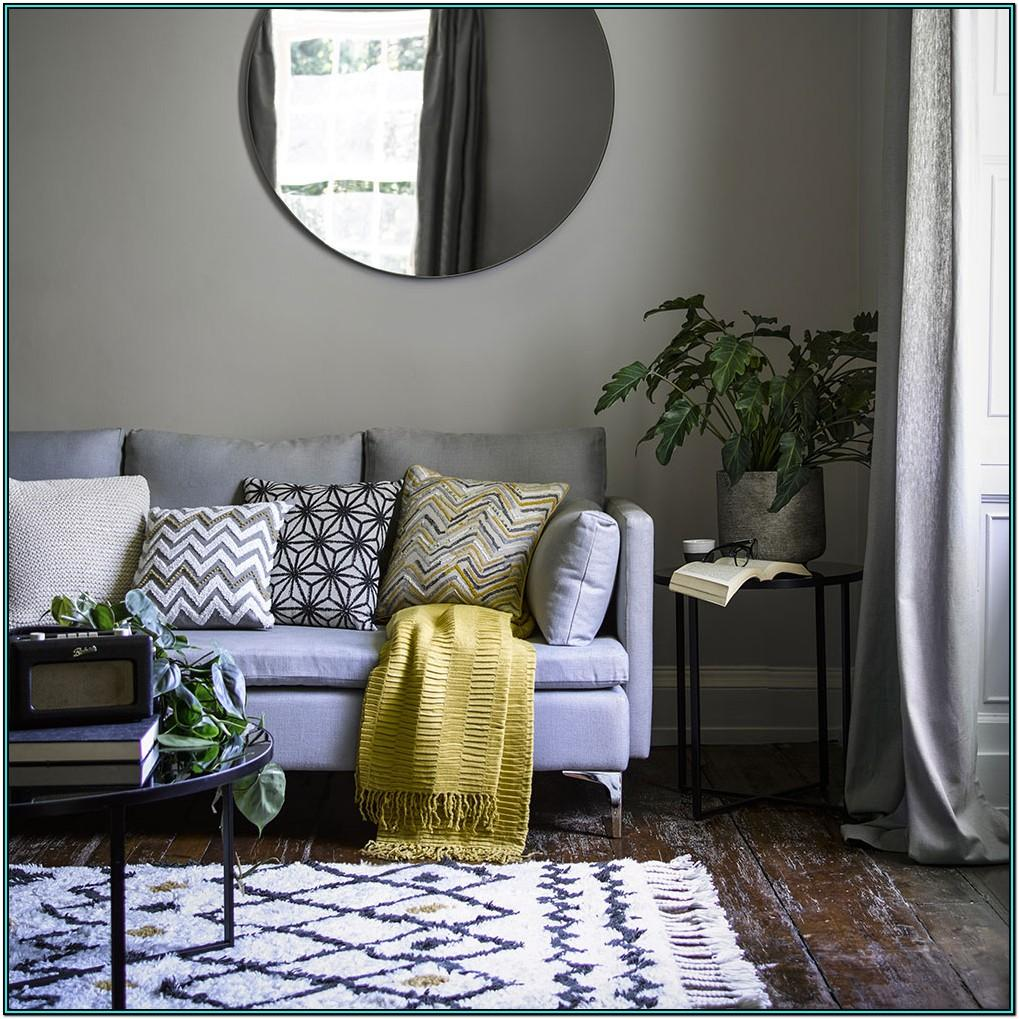Grey Glamorous Living Room Ideas