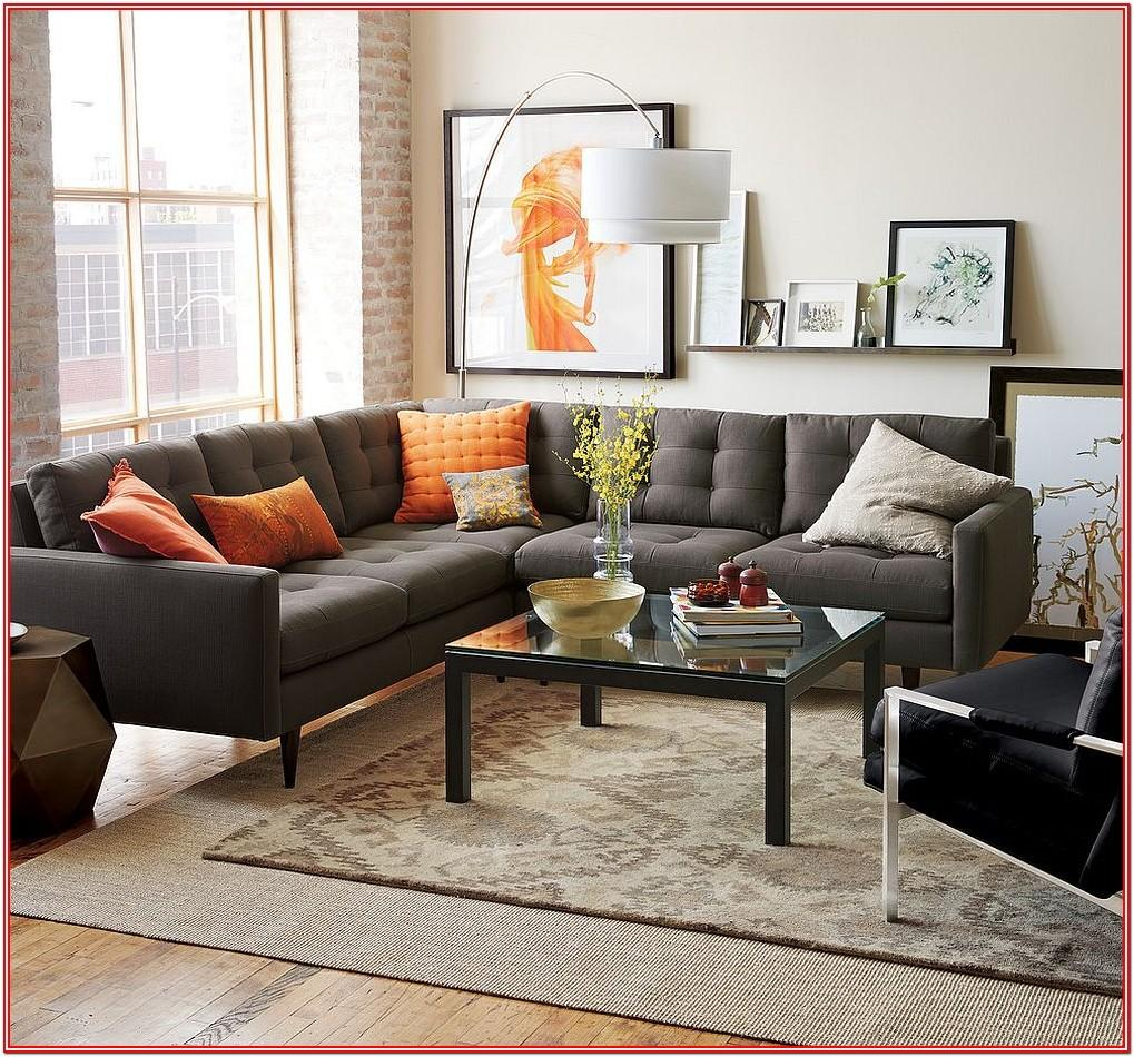 Grey Leather Couch Living Room Ideas