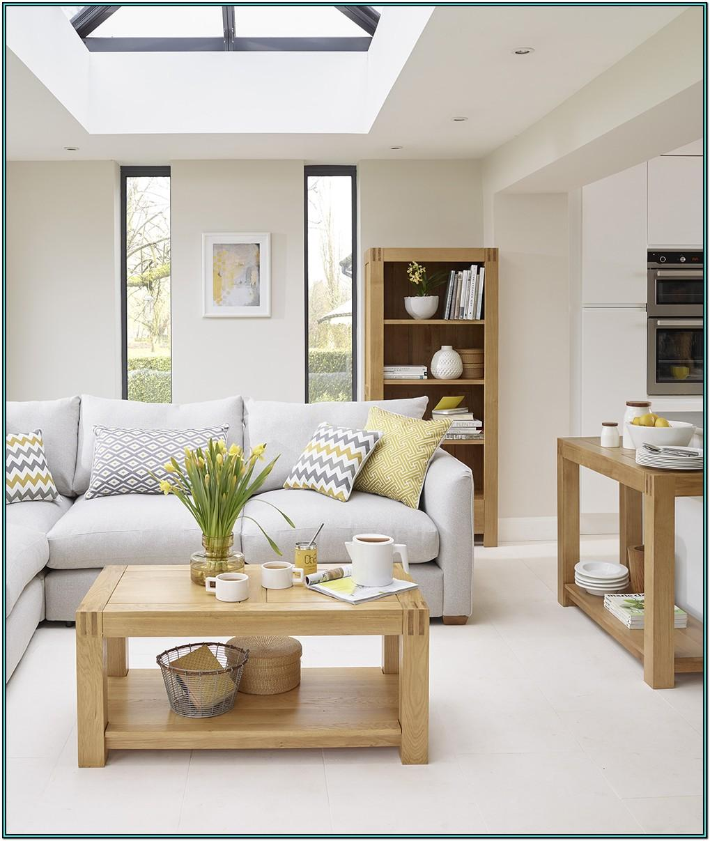 Grey Living Room Ideas With Oak Furniture