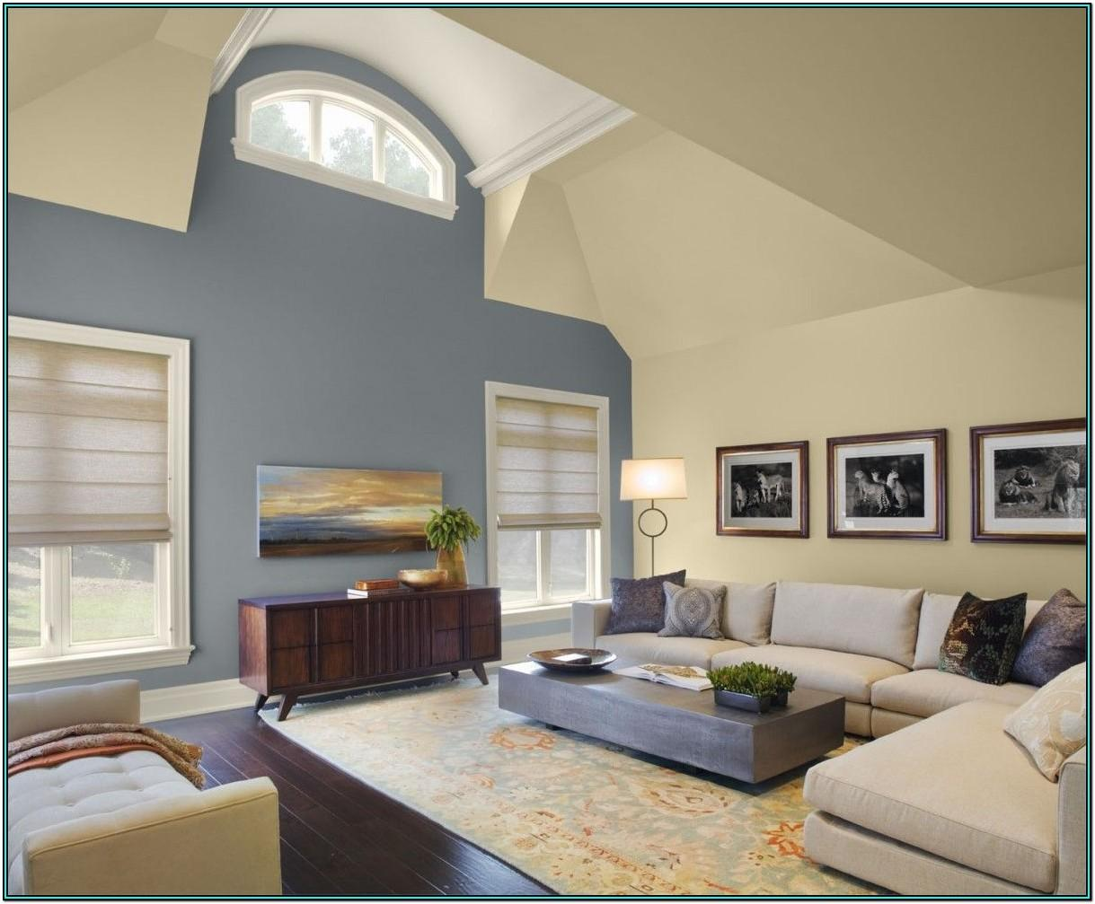 High Ceiling Living Room Color Ideas