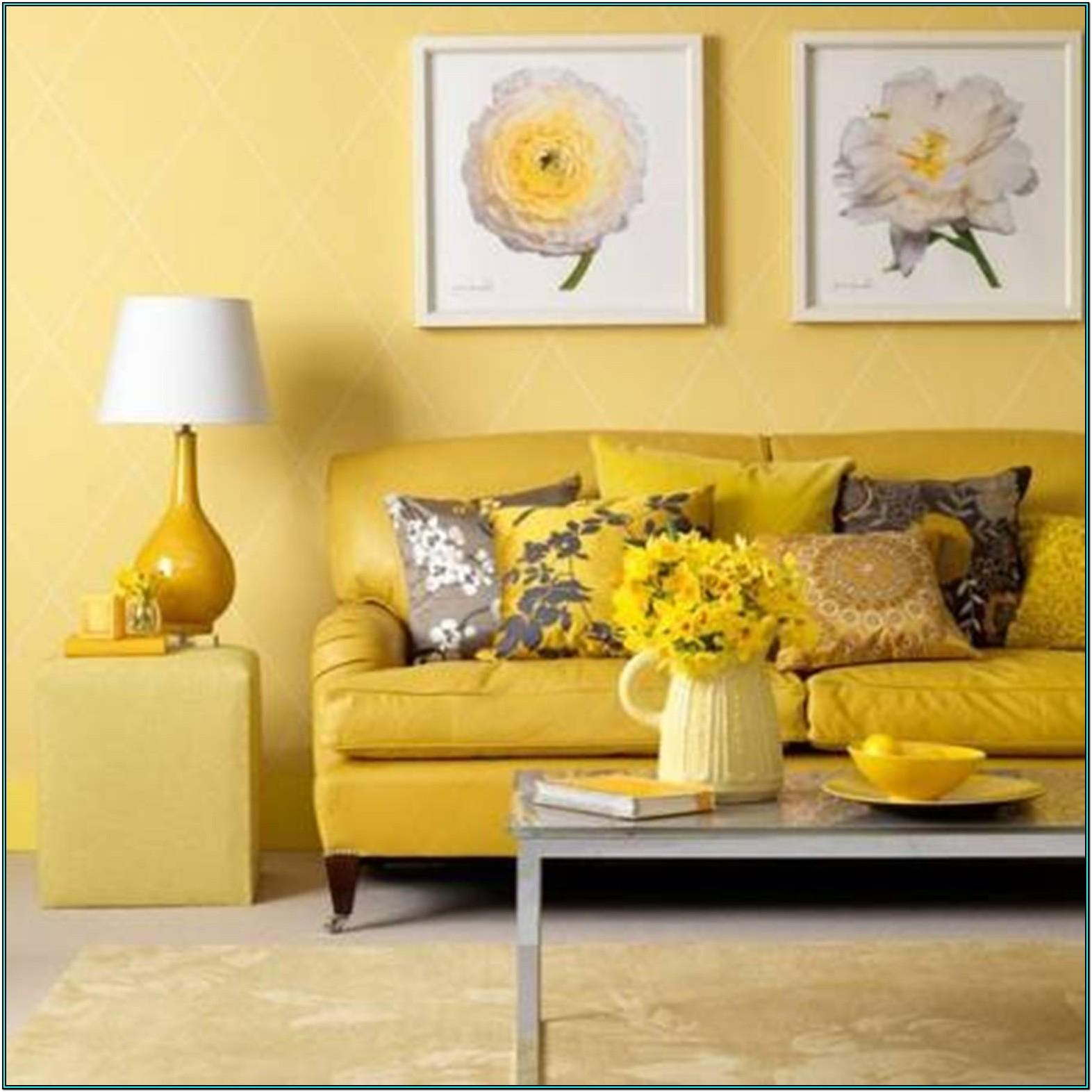Ideas For Yellow Living Room