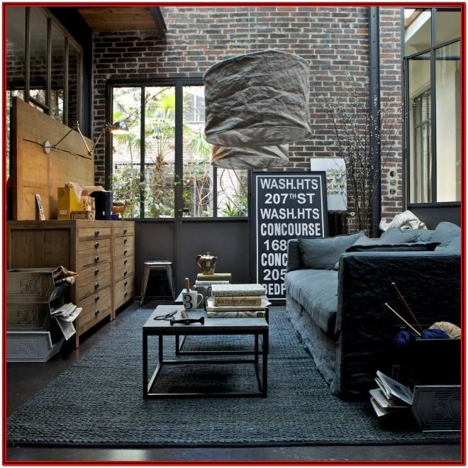 Industrial Style Living Room Ideas