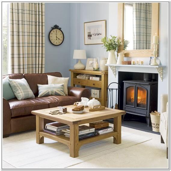 Interior Design Ideas Living Room Brown Sofa