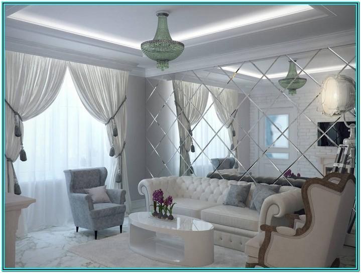 Interior Design Mirror Wall Tiles For Living Room