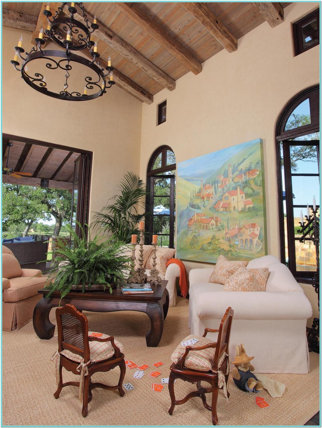 Italian Living Room Ideas