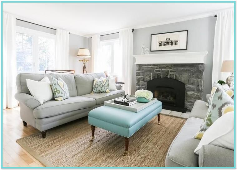 Light Blue And Grey Living Room Ideas
