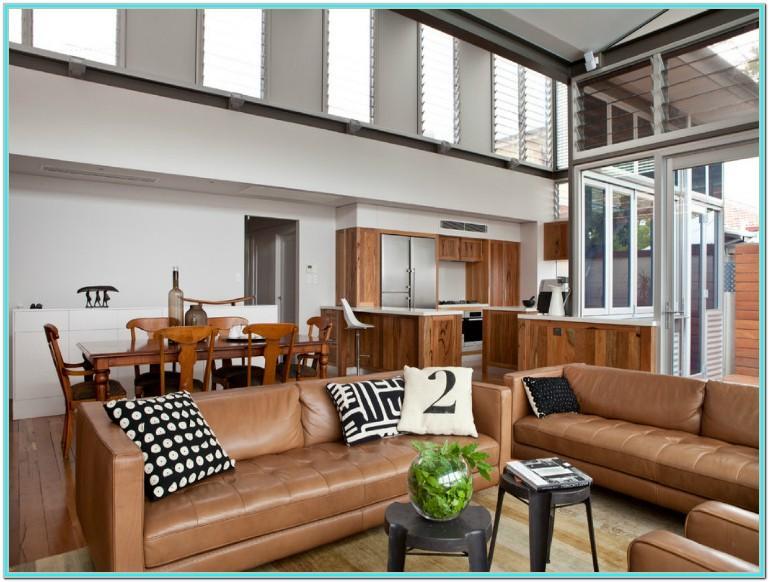 Light Brown Leather Sofa Living Room Ideas