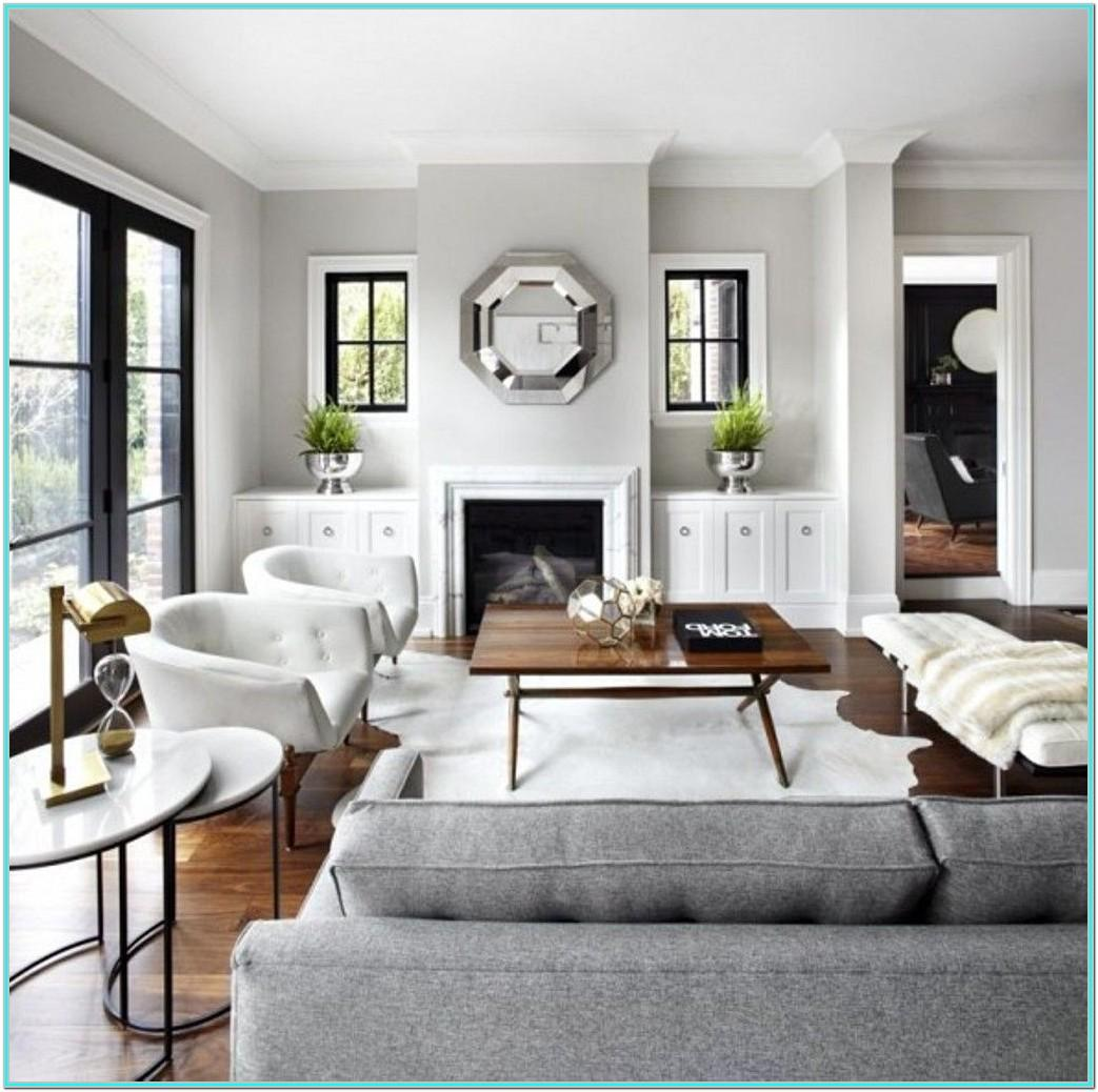 Light Grey And White Living Room Ideas