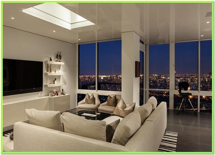 Lighting Living Room Night Time