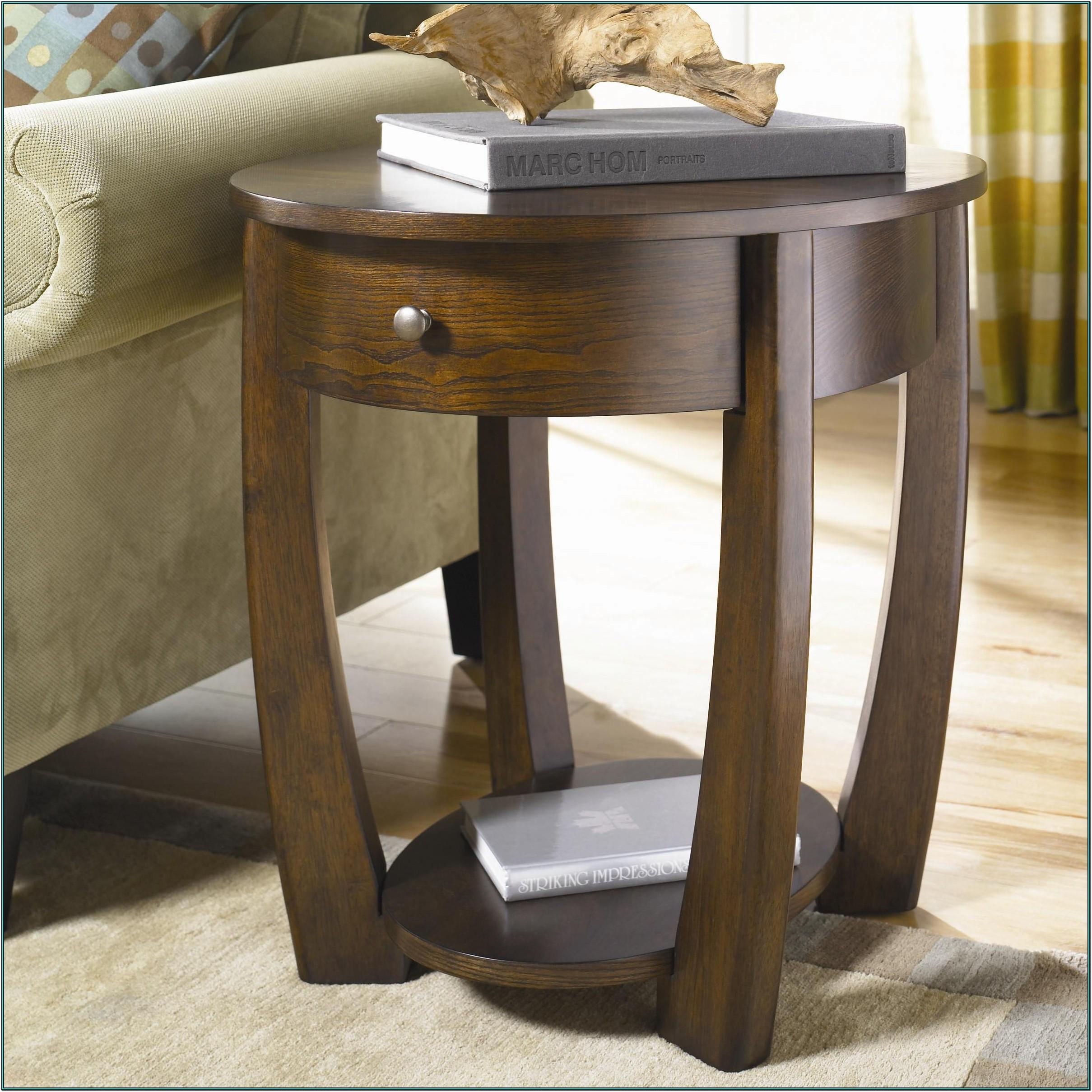 Living Room Accent Table With Drawers