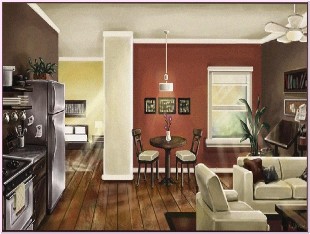 Living Room And Kitchen Paint Colors