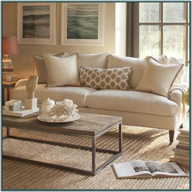Living Room Beige Color Sofa Set