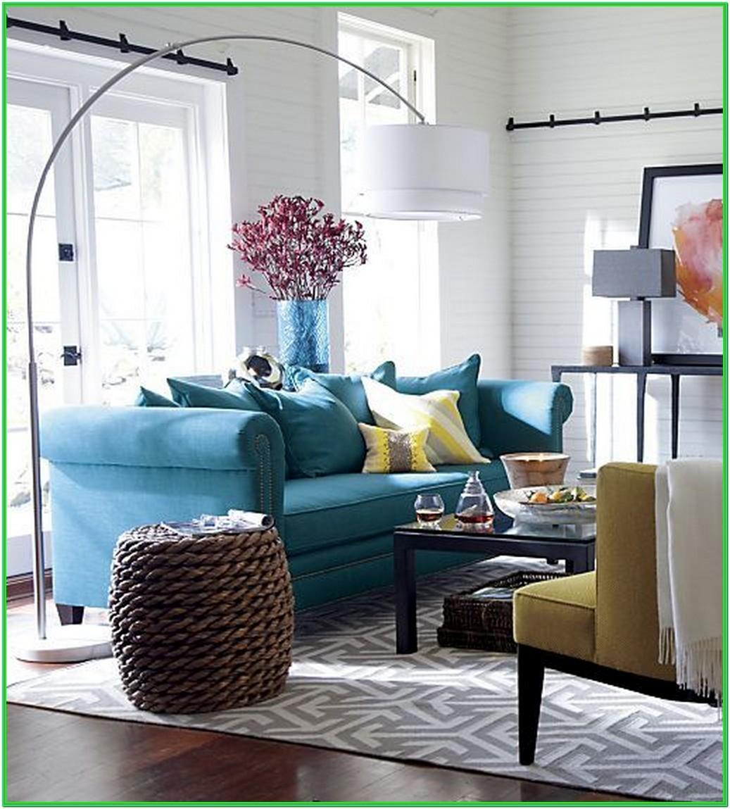 Living Room Blue And Yellow Color Scheme