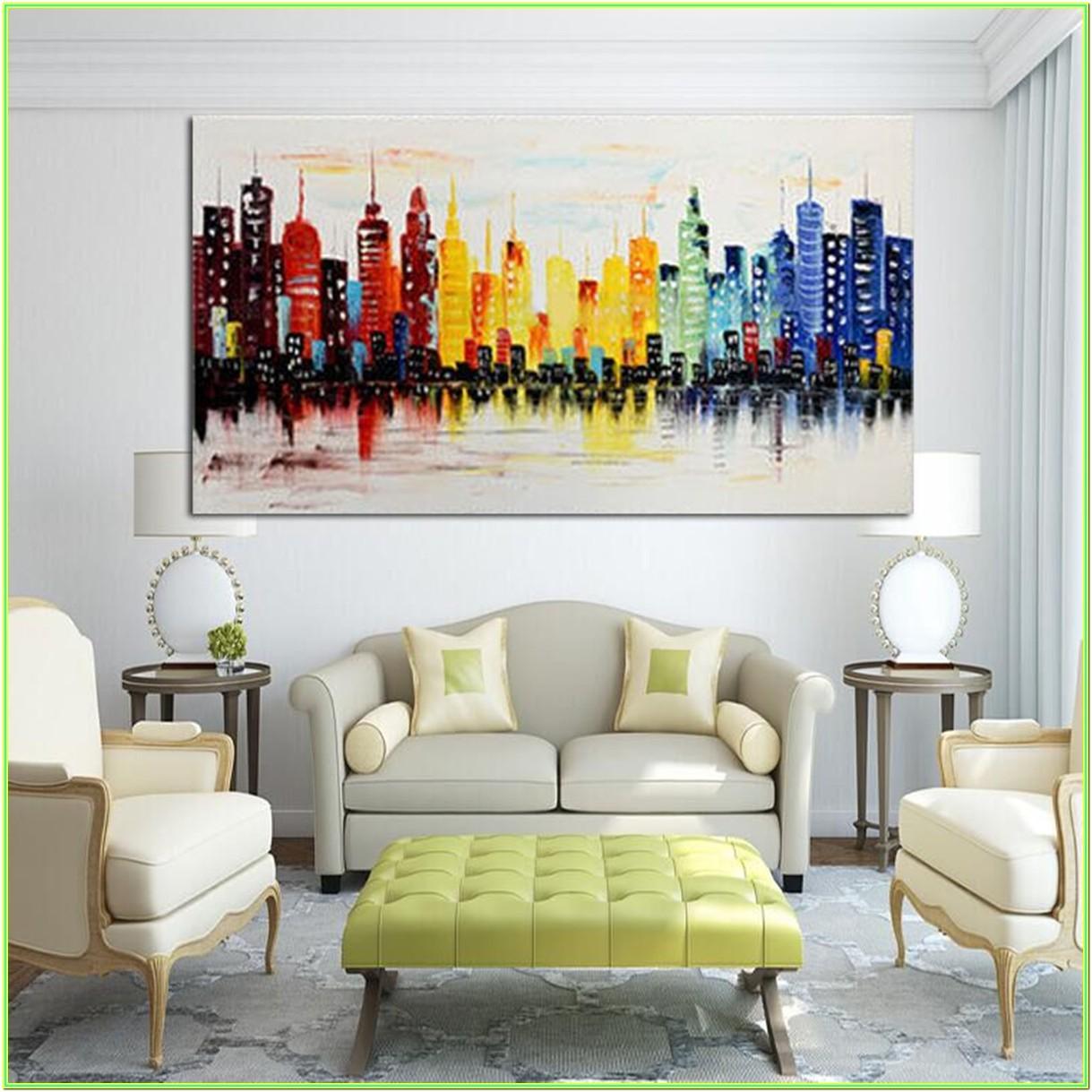 Living Room Canvas Photo Ideas