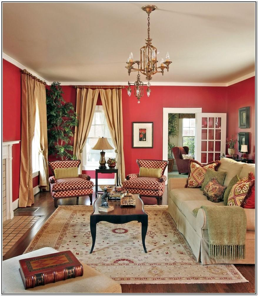 Living Room Color Ideas With Red Furniture