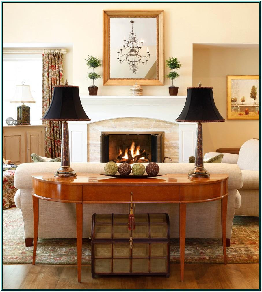 Living Room Console Table Accessories