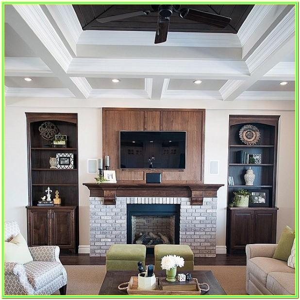 Living Room Crown Molding Color Ideas