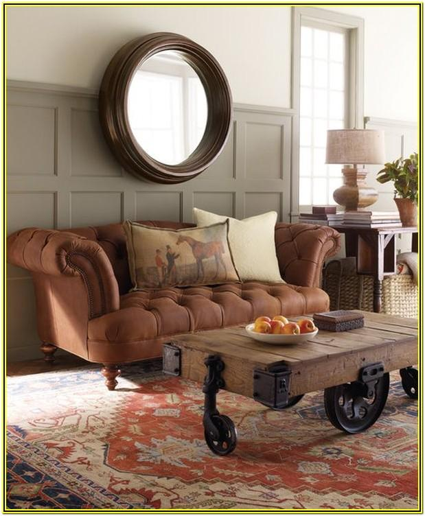 Living Room Decor Ideas With Chesterfield Sofa