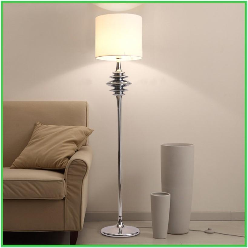 Living Room Decor With Floor Lamps