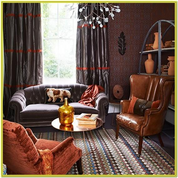 Living Room Decorating Ideas With Burnt Orange