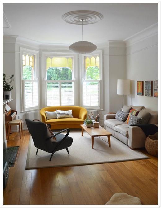 Living Room Design Ideas Bow Window