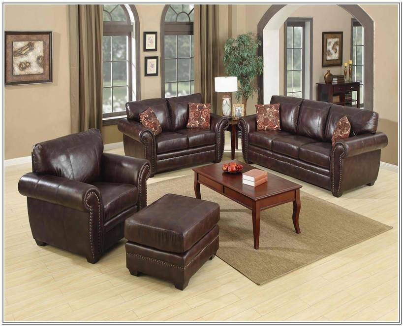 Living Room Design Ideas Brown Leather Sofa
