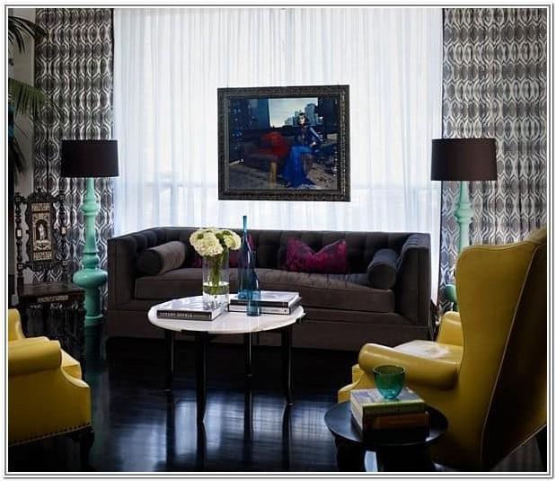 Living Room Design Ideas Dark Floors