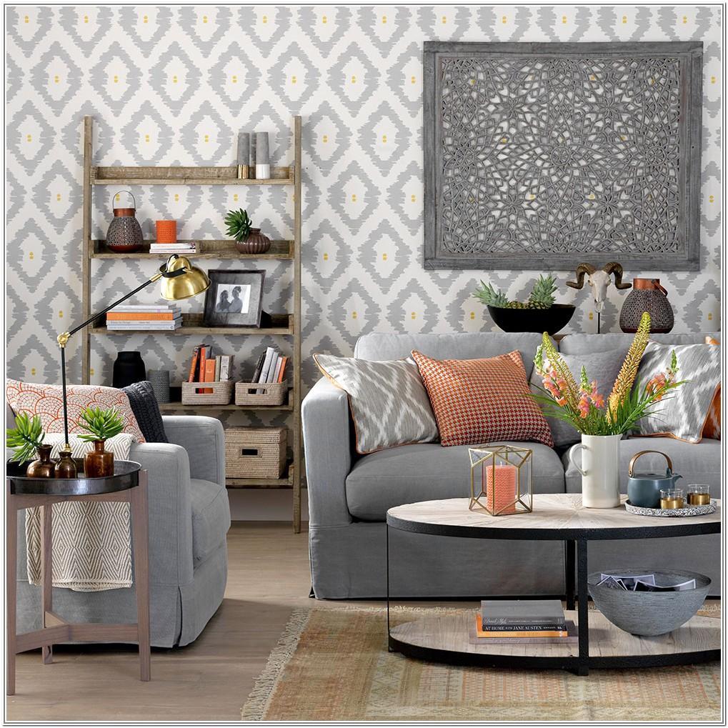 Living Room Design Ideas Grey Walls