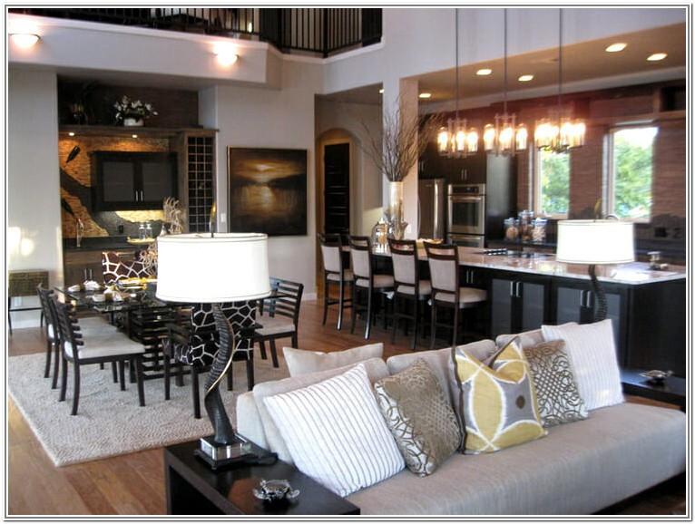 Living Room Design Ideas Open Concept
