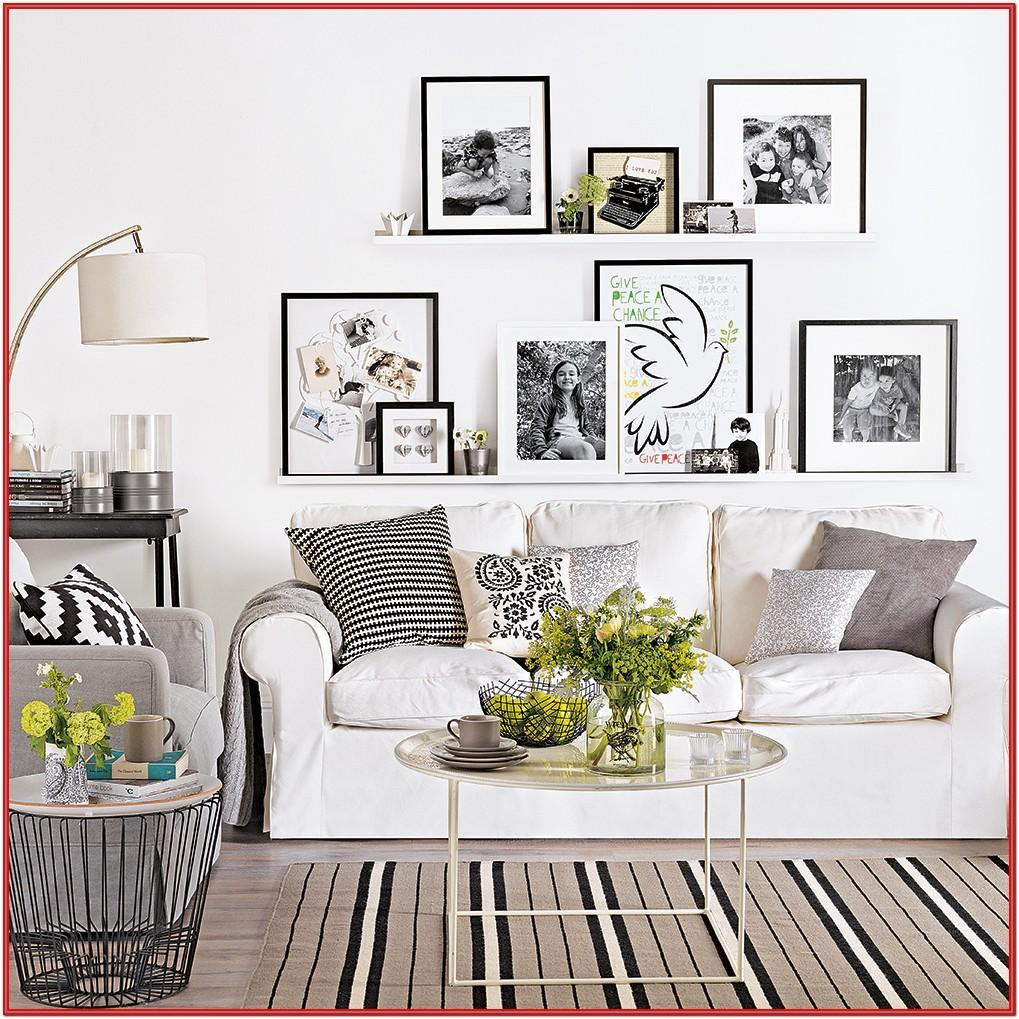 Living Room Design Ideas White Walls