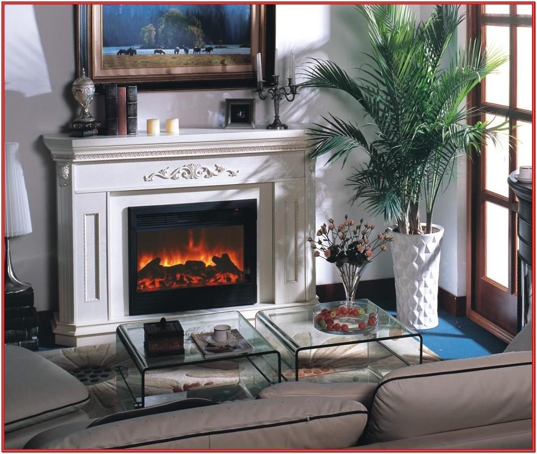 Living Room Design Ideas With Electric Fireplaces