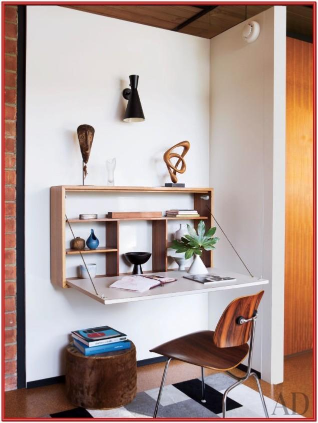 Living Room Desk Ideas Wall