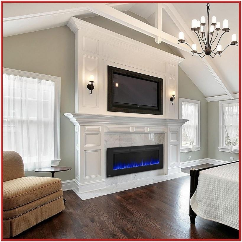 Living Room Electric Fireplace Insert Ideas