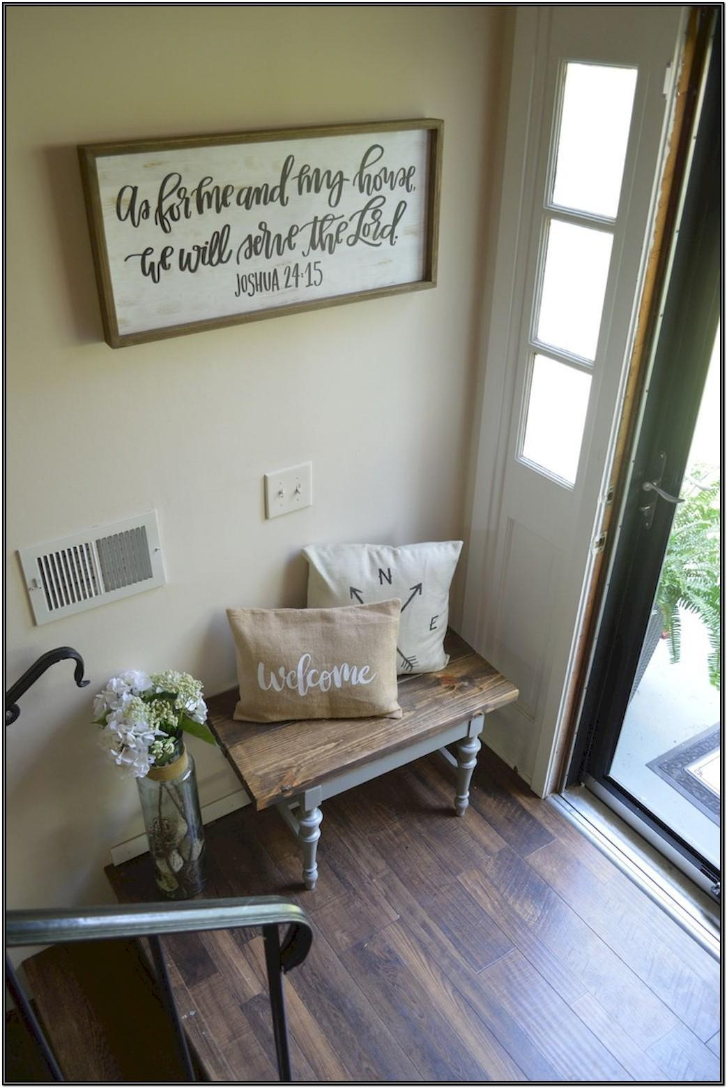 Living Room Entrance Decor Ideas