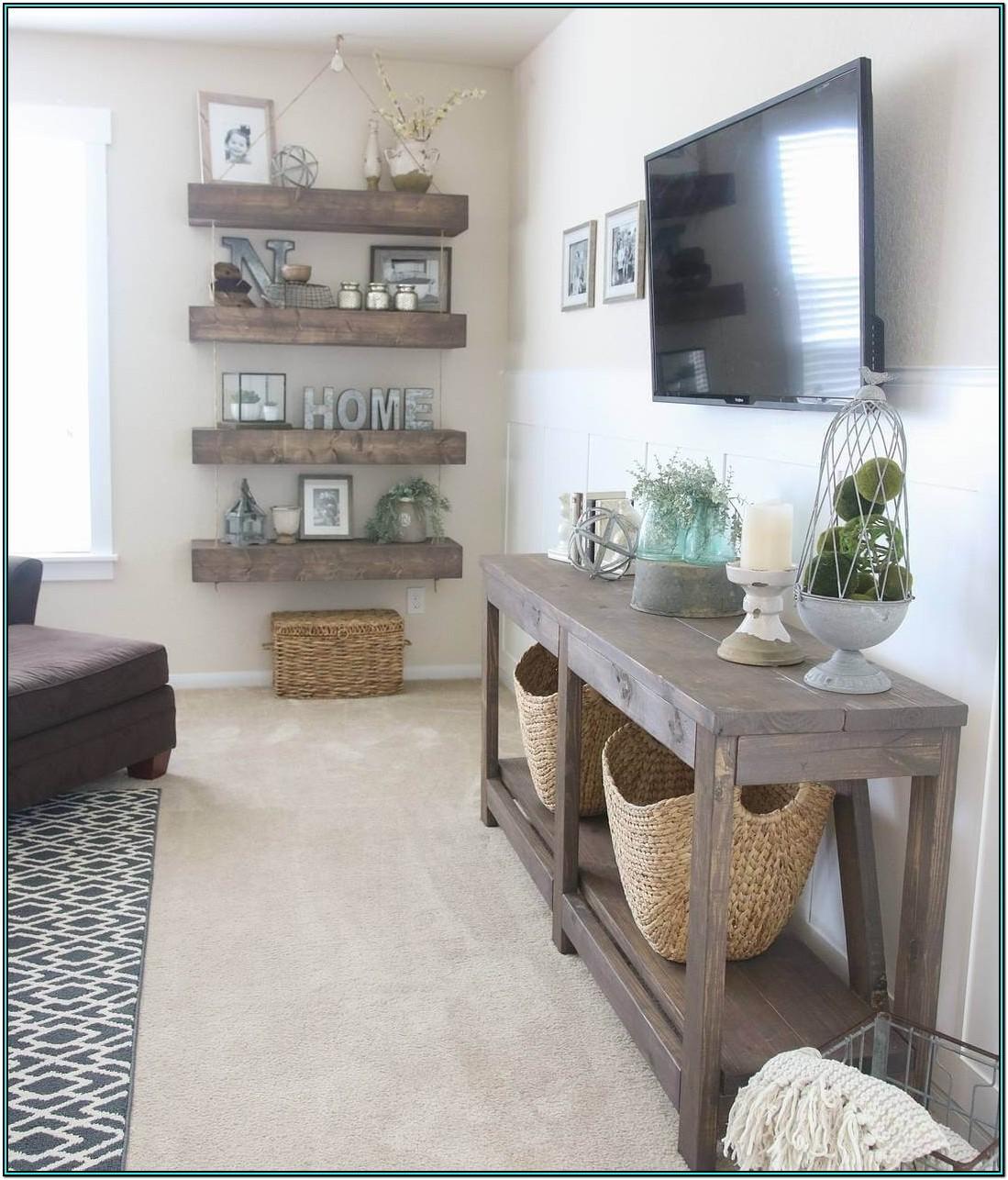 Living Room Farmhouse Decor Ideas