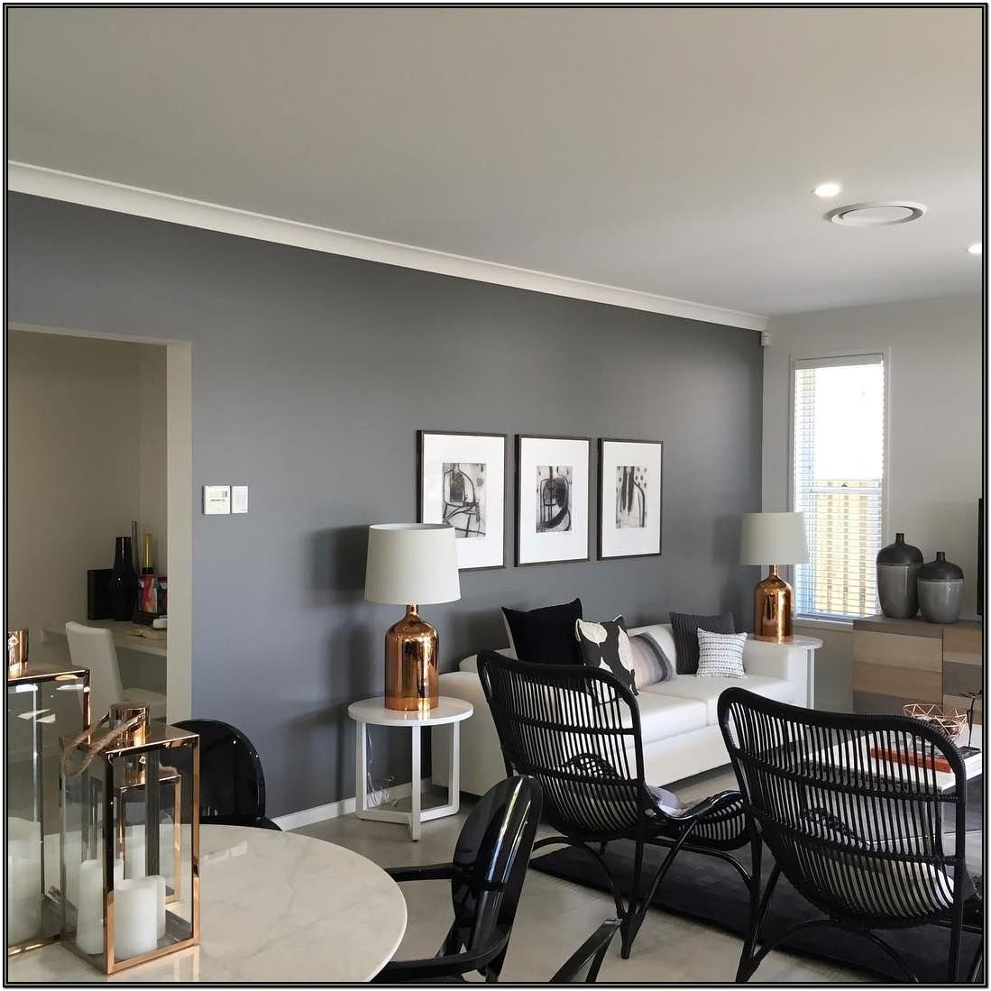 Living Room Feature Wall Ideas Grey