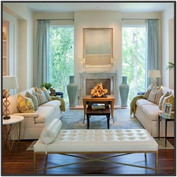 Living Room Fireplace Seating Ideas
