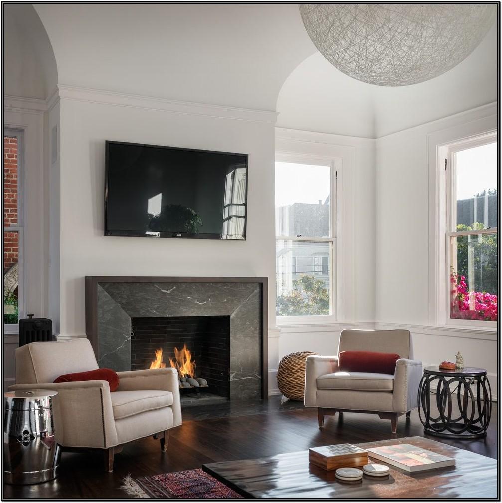 Living Room Fireplace Tile Ideas