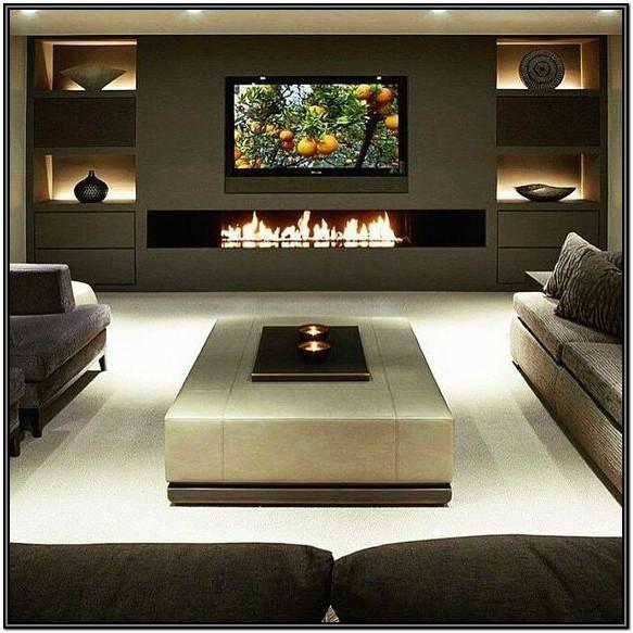 Living Room Fireplace Tv Wall Ideas