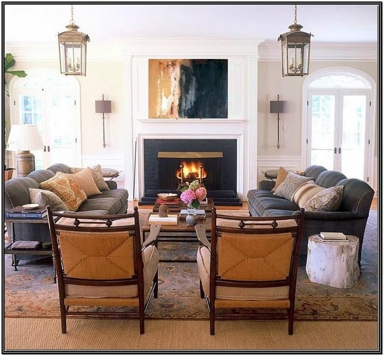 Living Room Furniture Ideas Two Sofas