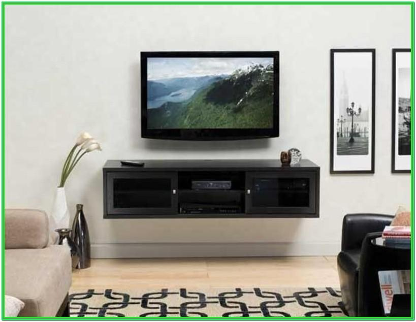 Living Room Furniture Under Wall Mounted Tv