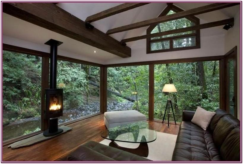 Living Room Glass Design For Wall