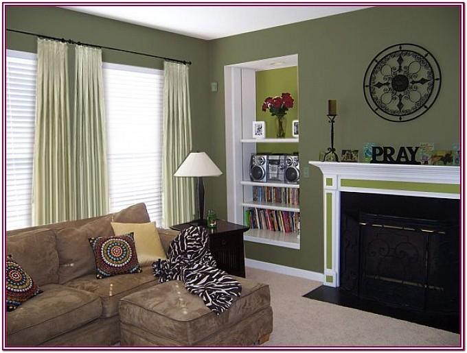 Living Room Green Paint Colors