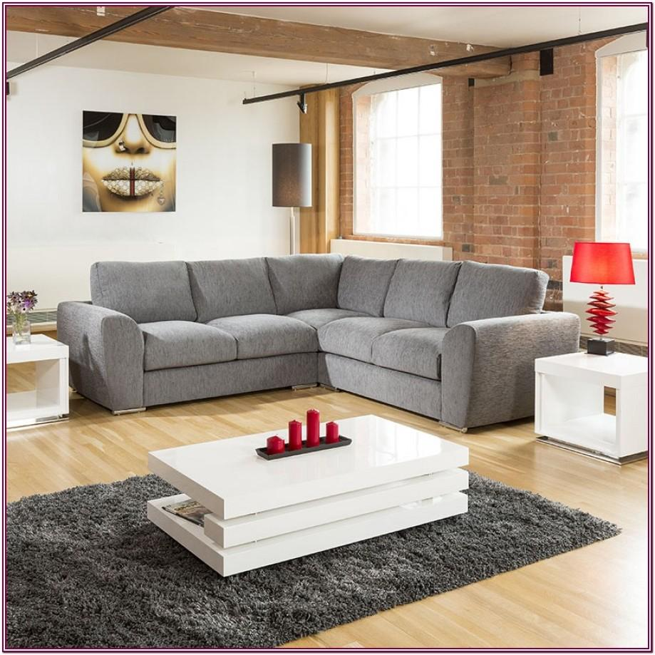 Living Room Grey L Shaped Couch