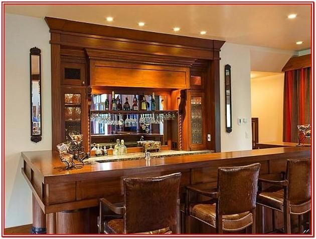 Living Room Home Bar Ideas
